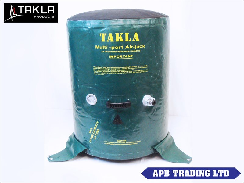 Takla Air Jack 2 5 Ton Capacity 50 60mm Expedition Equipment