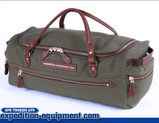 APB Safari Travel Bag - 45L - Canvas/Leather