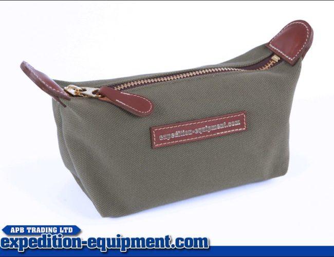 APB Wash Bag - Canvas/Leather