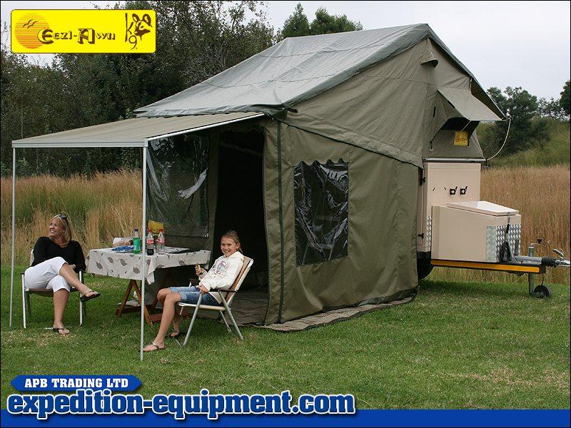 & Eezi-Awn Globedrifter Trailer Tent