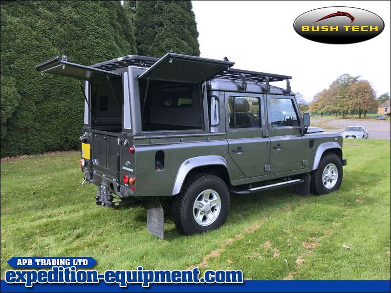 Land Rover Defender 110 Bushtech Canopy Top & Land Rover Defender 110 Double Cab Canopy | 2018 Cars Models