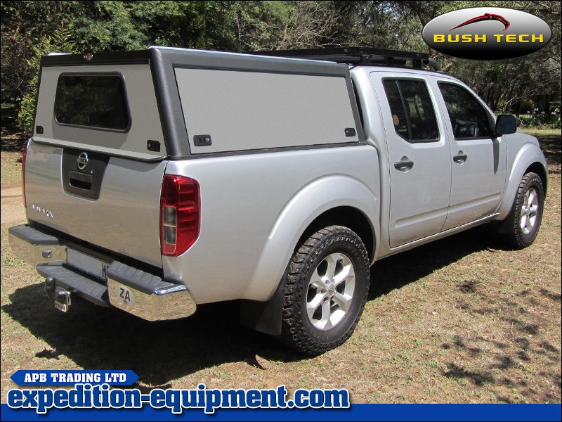 Nissan Navara ... & Nissan Navara (Double Cab) - Bushtech Canopy Top