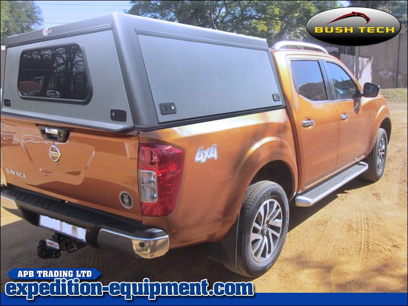 Nissan ... & Nissan Navara (Double Cab + 2017 Onwards) - BushTech Canopy Top