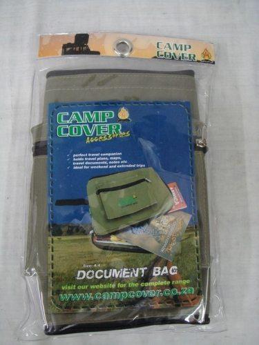 camp cover document bag