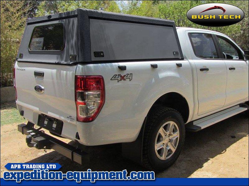 Ford Ranger (Double Cab) u2013 Bushtech Canopy Top & Ford Ranger (Double Cab) - Bushtech Canopy Top
