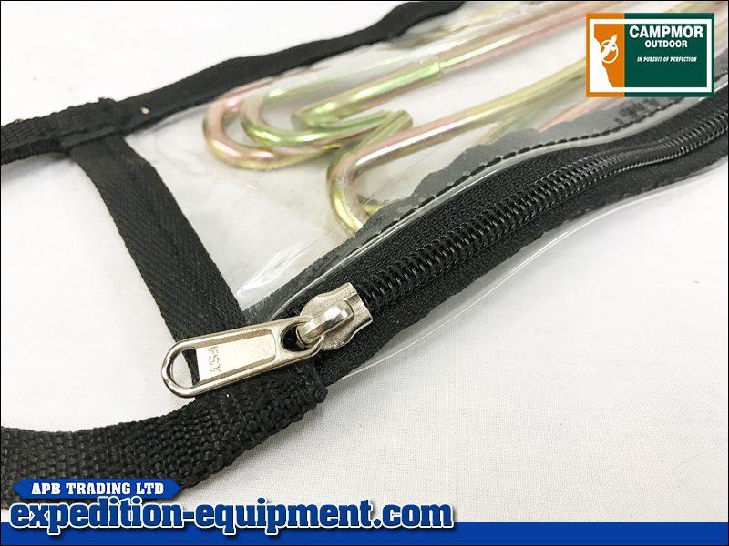 & Campmor PVC Tent Peg Bag