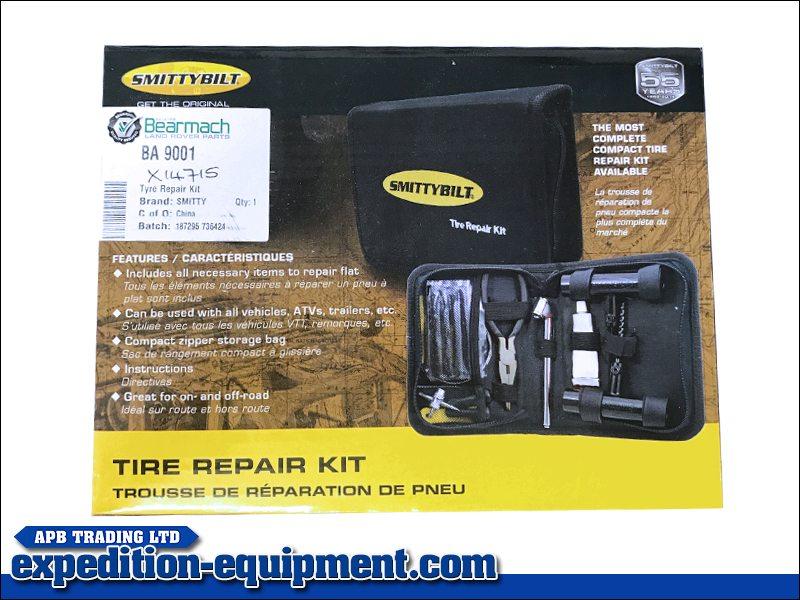 Smittybilt Tyre Repair Kit Expedition Equipment