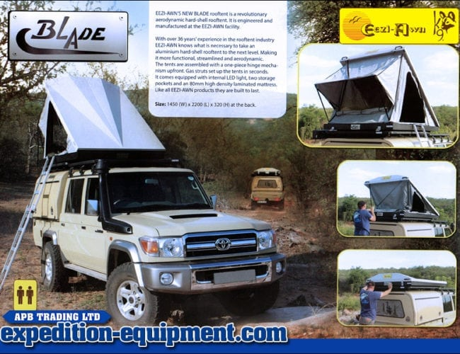 Eezi Awn Blade Roof tent