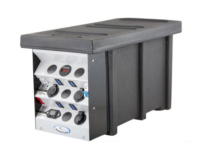 National Luna 12v Auxiliary Distribution Box