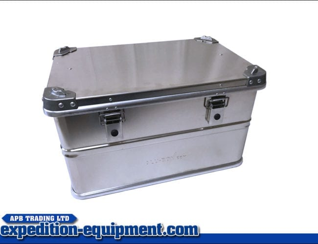 60 Litre Aluminium Box
