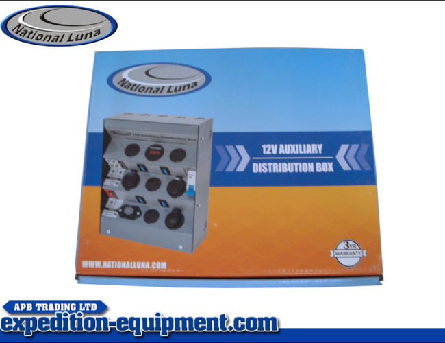 12v Auxiliary Distribution Box