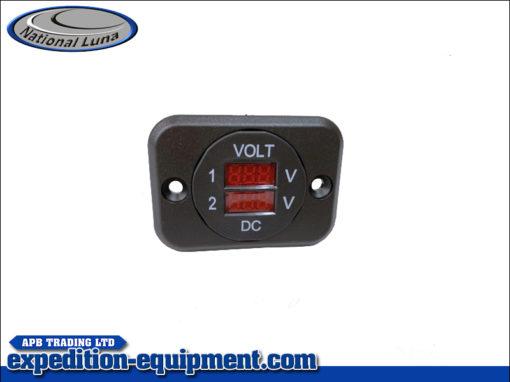 Volt Meter Dual Panel Mounted