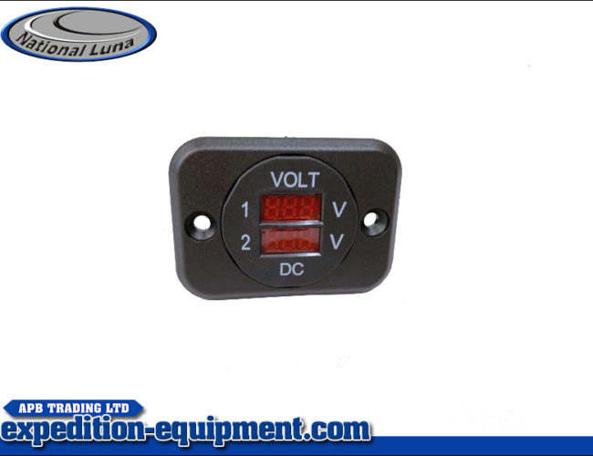 Volt Meter Dual Panel Mounted